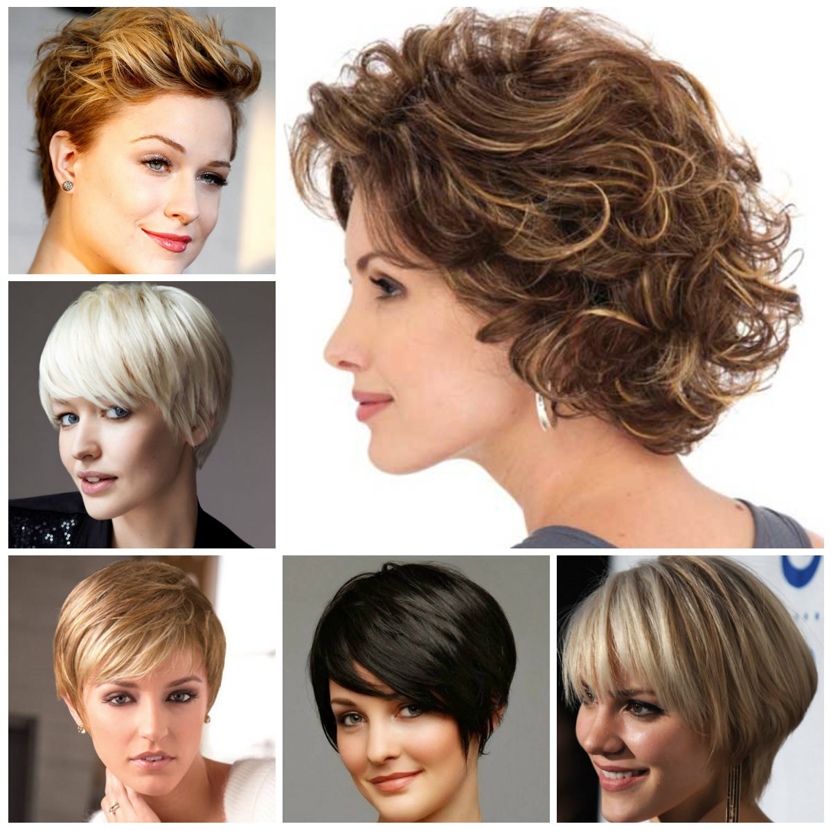 Short Layered Hairstyle Ideas For 2019 | Hairstyles For Women 2019 Regarding Long Messy Curly Pixie Haircuts (View 24 of 25)