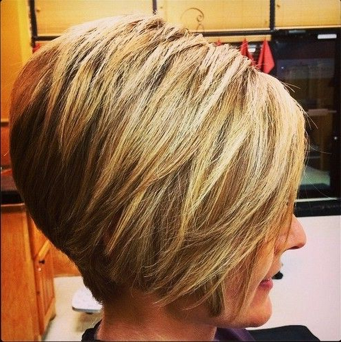 Short Layered Inverted Bob Hairstyles | Short Haircuts I Like In Intended For Inverted Bob Hairstyles With Swoopy Layers (View 21 of 25)