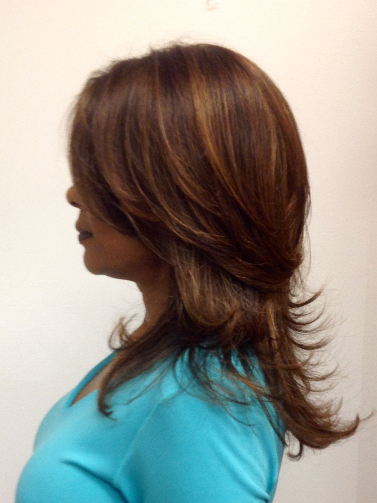 Short Layers On Long Hair With Highlights | Theroyalhairtreatment With Regard To Long And Short Layers (View 5 of 25)
