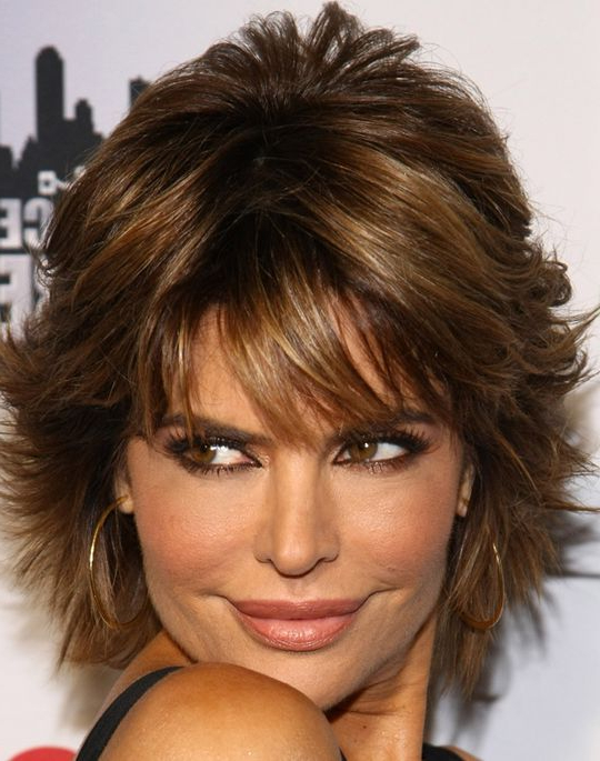 Short Length Hair Highlights With Caramel Color Pertaining To Short Bob Hairstyles With Dimensional Coloring (View 20 of 25)