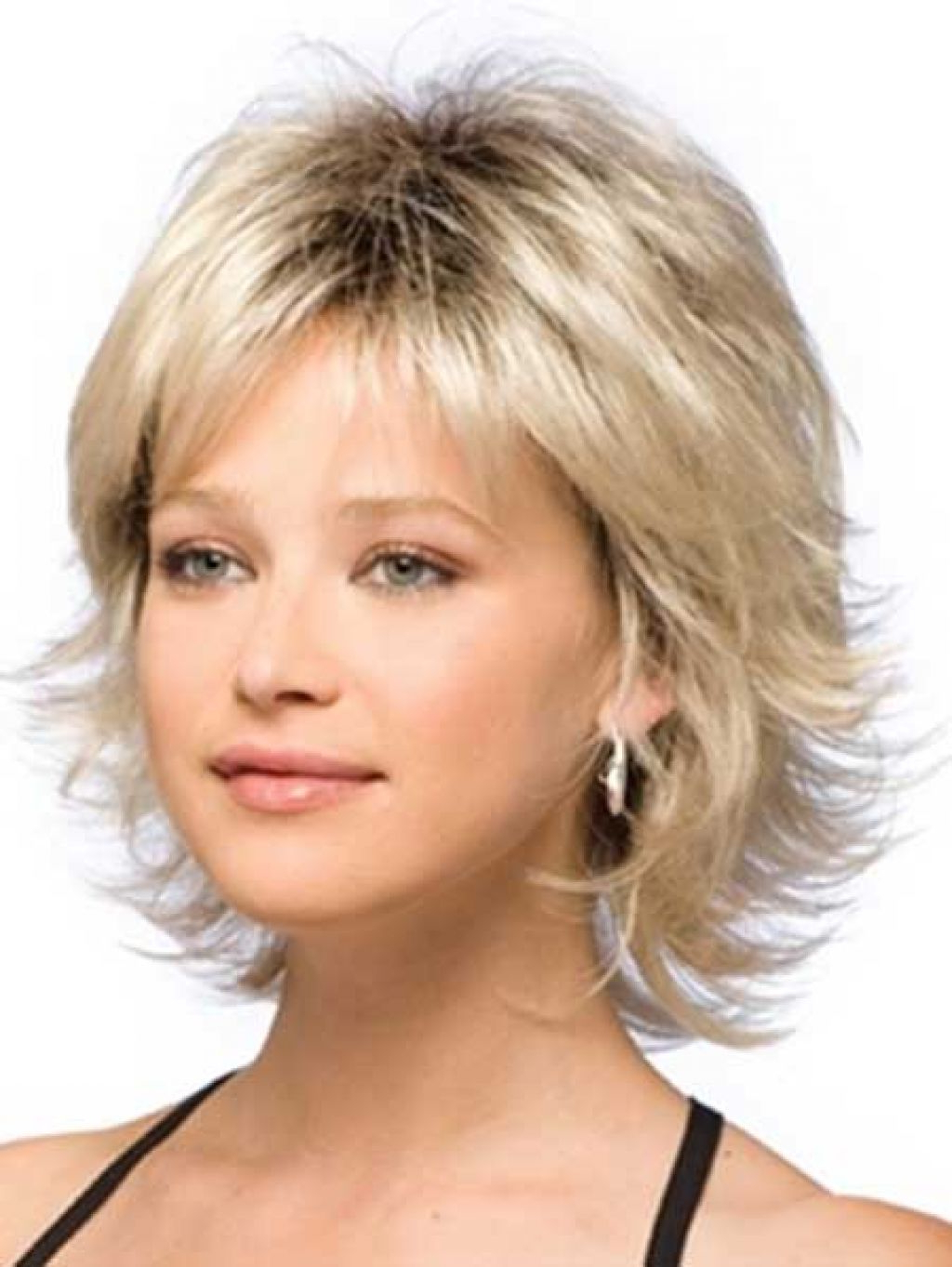 Short Length Hairstyles – Leymatson For Short To Mid Length Layered Hairstyles (View 9 of 25)
