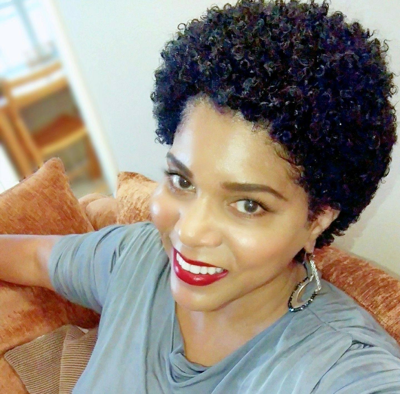 Short Natural Hair; Short Curly Afro; Short Hair (View 20 of 25)