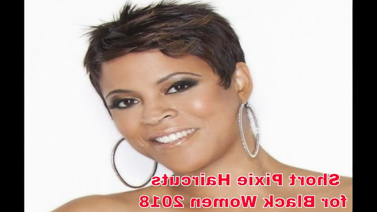 Short Pixie Haircut For Black Women (View 2 of 25)