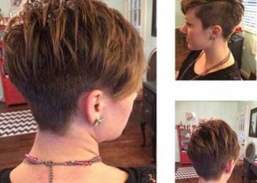 Short Pixie Haircuts For Fine Thin Hair – Short And Cuts Hairstyles Throughout Feathered Pixie Hairstyles For Thin Hair (View 15 of 25)