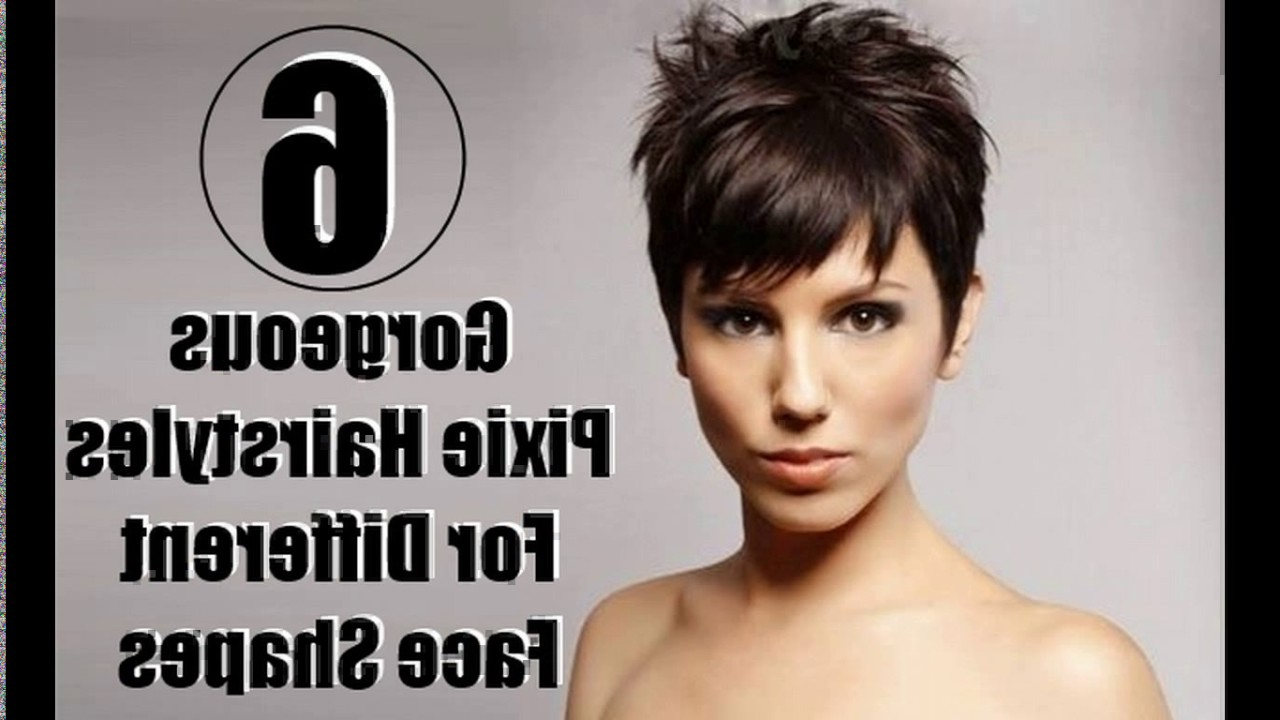 Short Pixie Haircuts For Square Face – Youtube Inside Short Haircuts For A Square Face Shape (View 23 of 25)