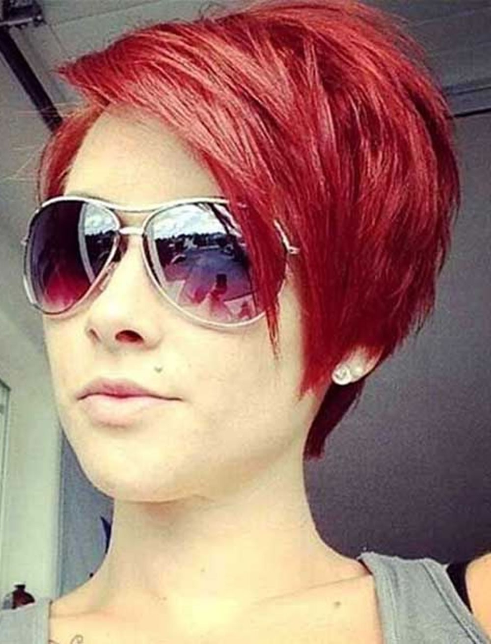 Short Red Hairstyles – Leymatson Regarding Red Short Hairstyles (View 4 of 25)