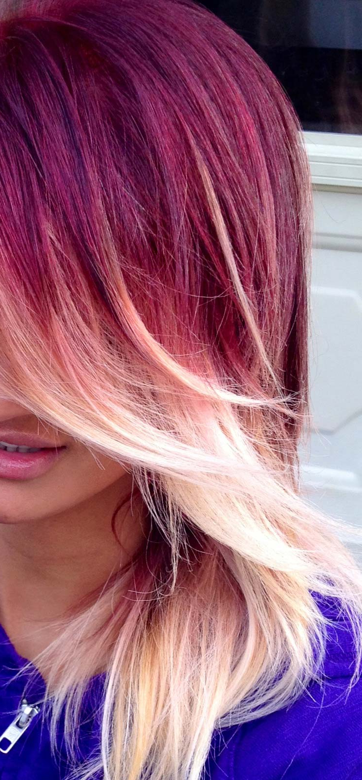 Short Red Ombre Hair | Cool Hairstyles Within Short Haircuts With Red And Blonde Highlights (View 17 of 25)