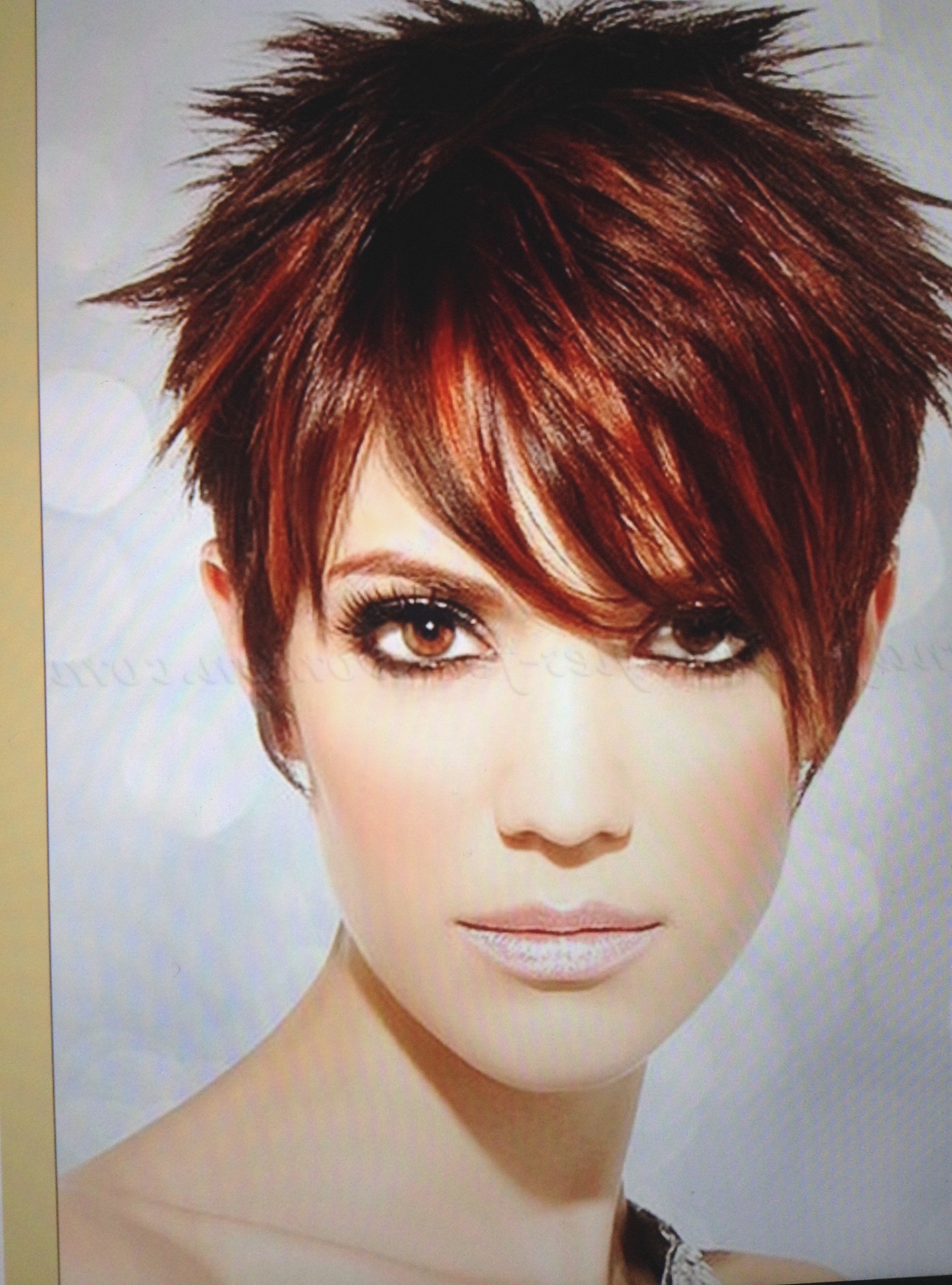 Short Sassy Haircuts For Thick Hair | The Hairstyles Ideas With Sassy Short Haircuts For Thick Hair (View 25 of 25)