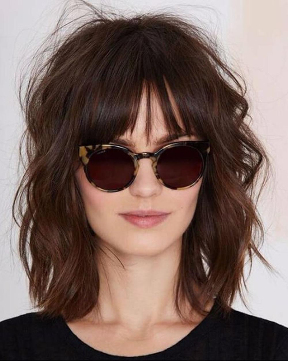 Short Shag Haircuts And Medium Shag Hairstyles – Shaggy Hair Image Within Short To Medium Shaggy Hairstyles (View 4 of 25)
