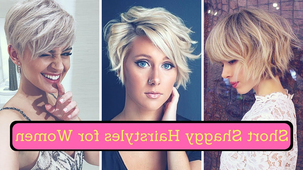 Short Shaggy Hairstyles For Women (2018) – Shag Haircuts Medium And With Regard To Short To Medium Shaggy Hairstyles (View 8 of 25)