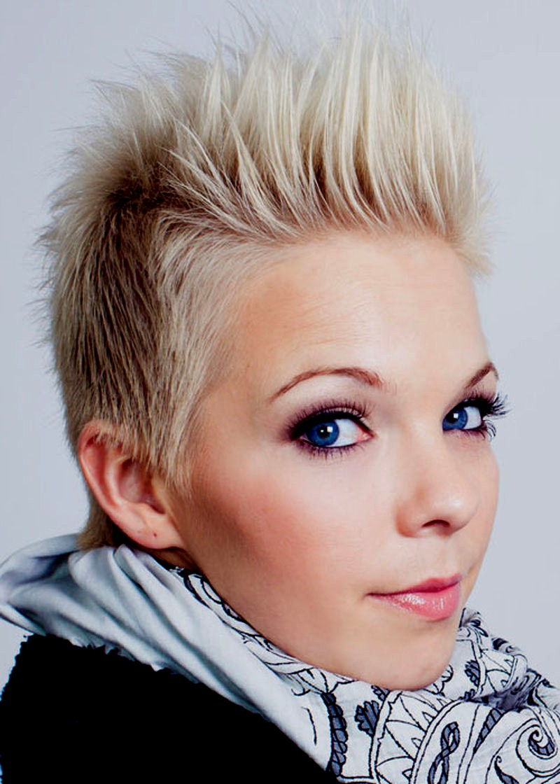Short Spiky Haircuts And Hairstyles For Women 2017   Very Short Intended For Feminine Short Hairstyles For Women (View 24 of 25)
