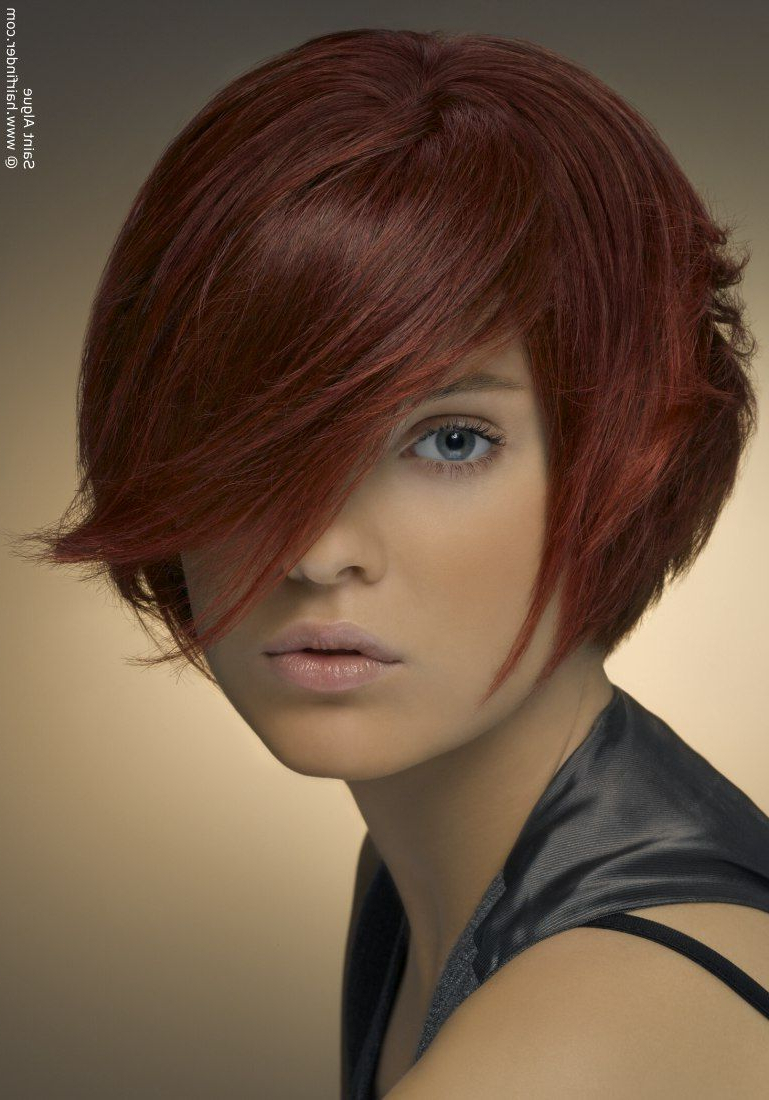 Short Stacked Bob – Like The Bangs, Tho Not As Dramatic With Regard To Dramatic Short Haircuts (View 11 of 25)