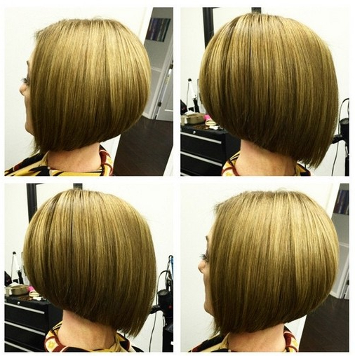 Short Straight A Line Bob Haircut For Girls – Hairstyles Weekly With Regard To A Line Amber Bob Haircuts (View 9 of 25)