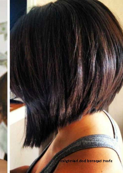 Short Tapered Bob Hairstyles 20 Inverted Bob Back View – Hairstyles Regarding Short Bob Hairstyles With Tapered Back (View 22 of 25)