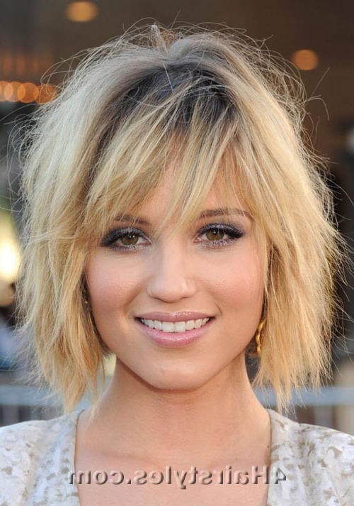 Short To Medium Hairstyles | All About Hairstyle Ideas In Short To Medium Feminine Layered Haircuts (View 25 of 25)