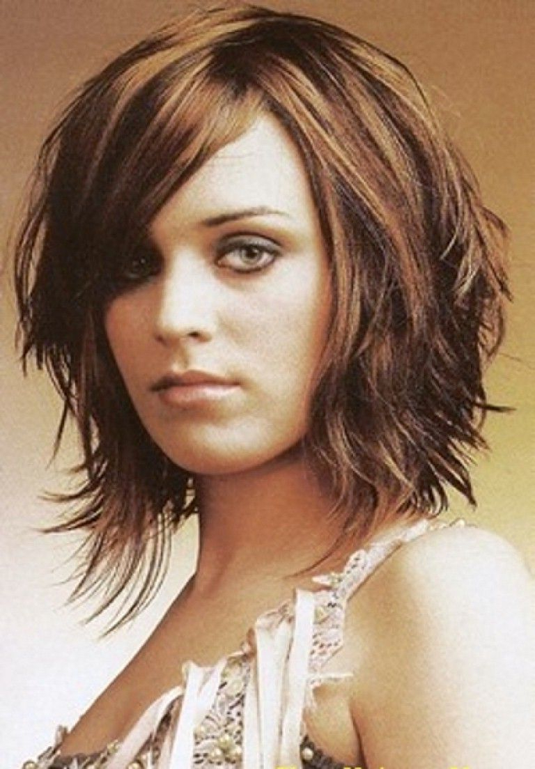 Short To Medium Length Layered Hairstyles | Hair Color Ideas And Regarding Short To Mid Length Layered Hairstyles (View 25 of 25)