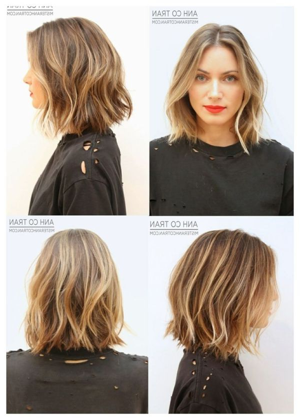 Short Tousled Hair | Love/want This Haircutiza Fiatkoski Within Tousled Wavy Bob Haircuts (View 24 of 25)