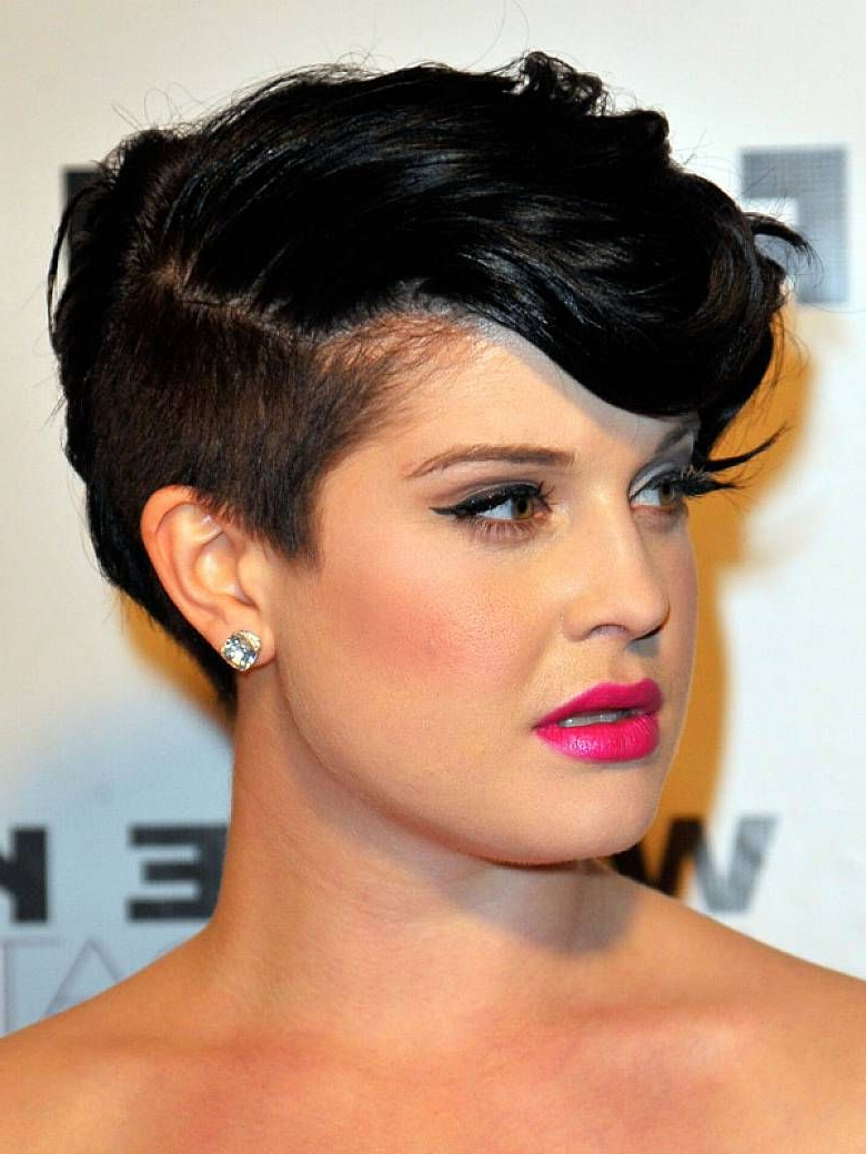 Short Undercut Punk Hairstyle For Ladies | Hair | Pinterest | Short Within Kelly Osbourne Short Haircuts (View 13 of 25)