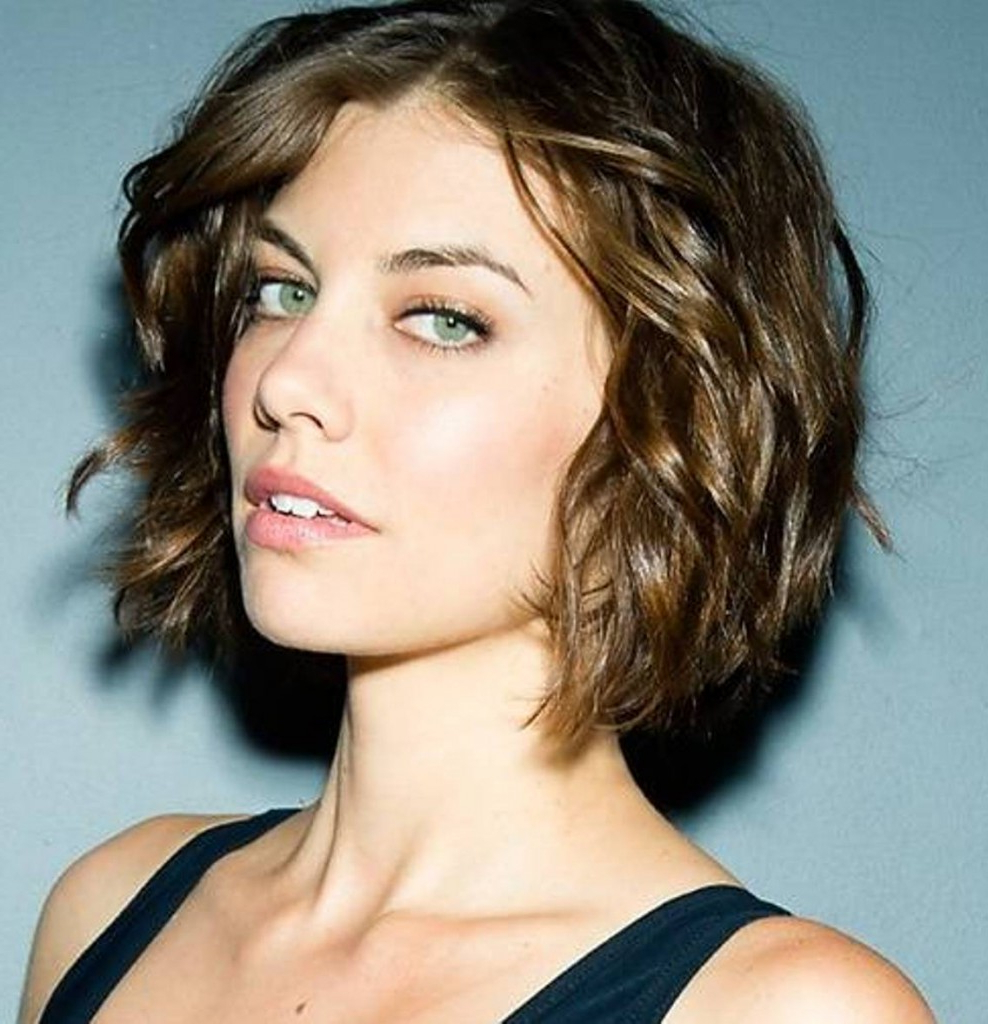 Short Wavy Hairstyles For Women's – The Xerxes For Short Hairstyles For Ladies With Curly Hair (View 25 of 25)