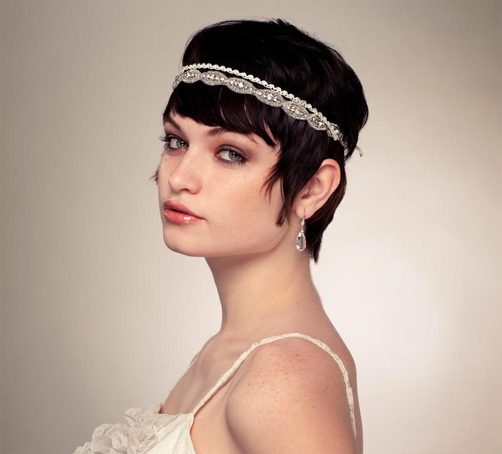 Short Wedding Hairstyles, Ideas Of Wedding Updos For Short Hair For Cute Wedding Hairstyles For Short Hair (View 24 of 25)