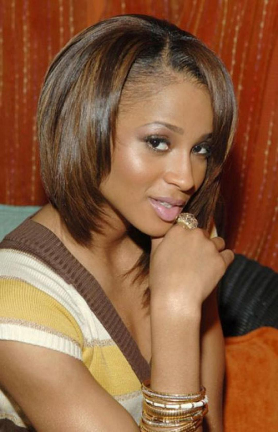 Shoulder Length Bob Hairstyles For Black Women Medium Length Bob For Short Haircuts For African American Women With Round Faces (View 20 of 25)