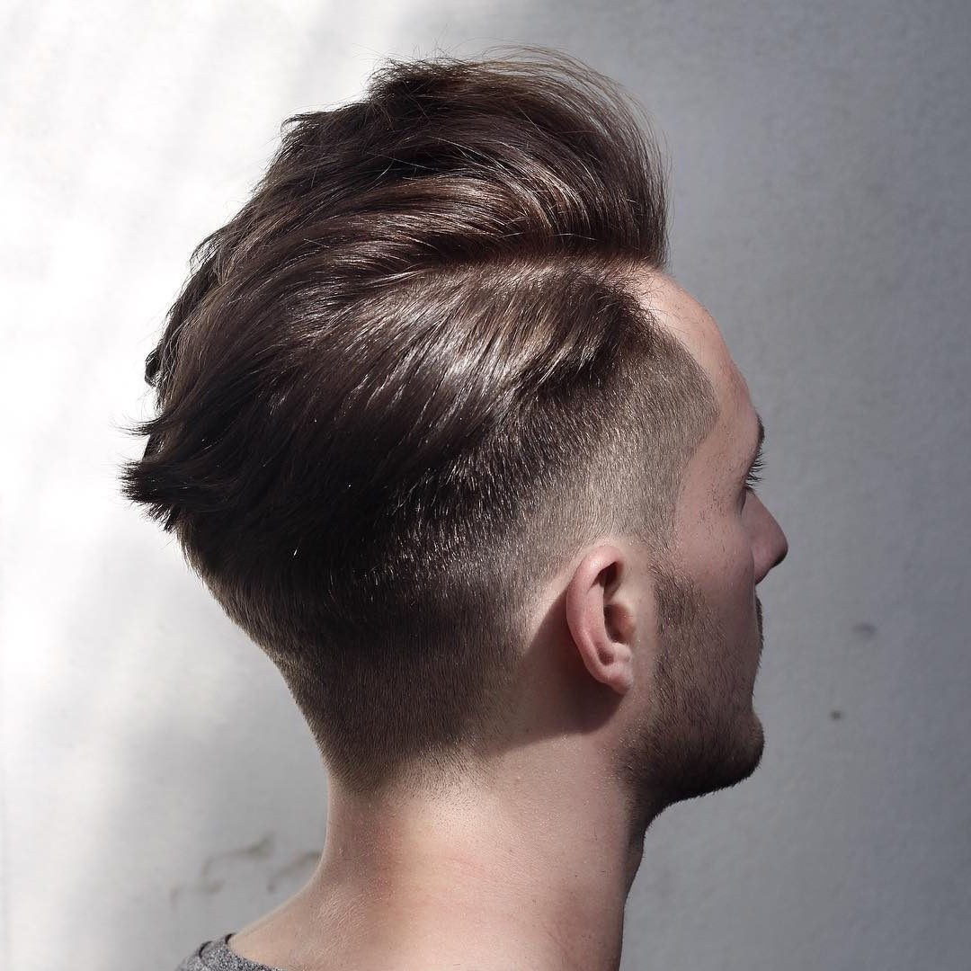 Side Part Hairstyles For Men For One Sided Short Hairstyles (View 19 of 25)