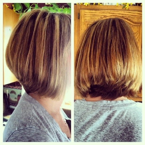 Simple Natural Look – The Layered Bob Haircut For Thick Hair Throughout Classic Layered Bob Hairstyles For Thick Hair (View 4 of 25)