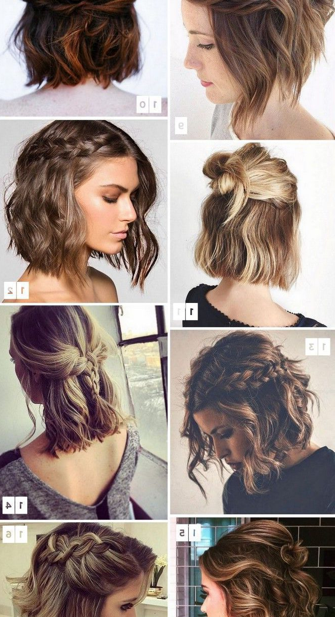 Simple Wedding Hairstyles For Short Hair – Hairstyles 2018 Pertaining To Cute Wedding Hairstyles For Short Hair (View 14 of 25)