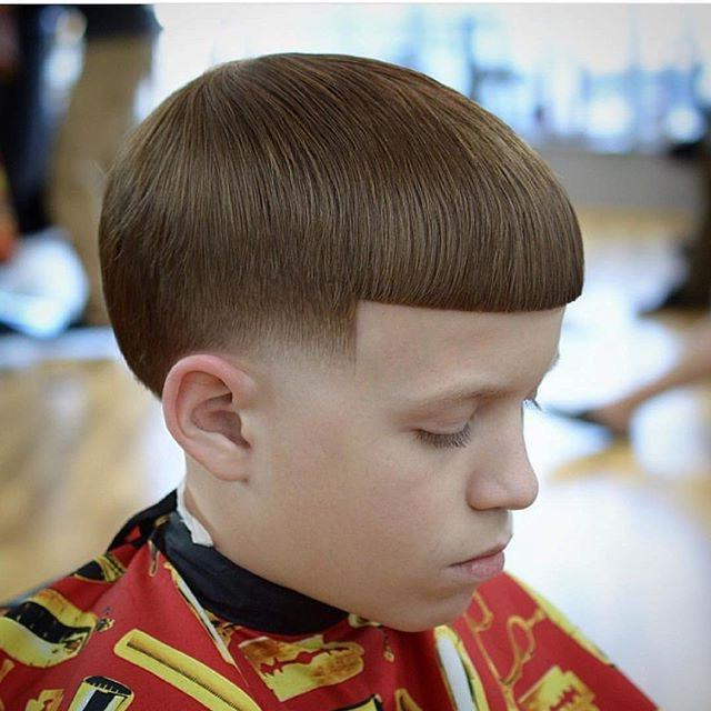 Skin Taper With Bowl Cut || Barbershopconnect For Tapered Bowl Cut Hairstyles (View 24 of 25)
