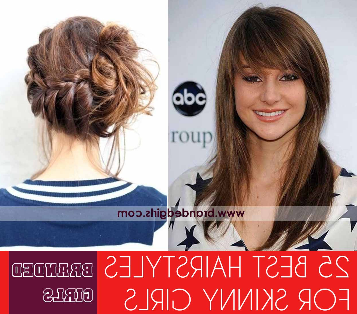 Skinny Girl Hair Looks – 25 Best Hairstyles For Skinny Girls Inside Short Haircuts For Tall Women (View 6 of 25)