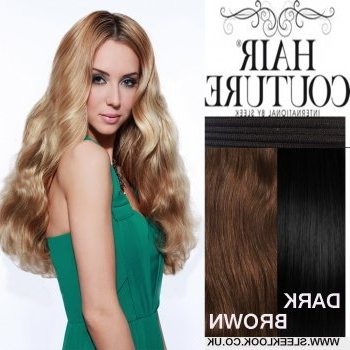 Sleek Hair Couture Remy Gold Triple Weft |Sleeklook.co (View 18 of 25)