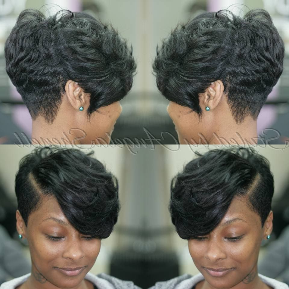 So Sassy … … | Hair In 2018… For Black Short Hairstyles (View 8 of 25)