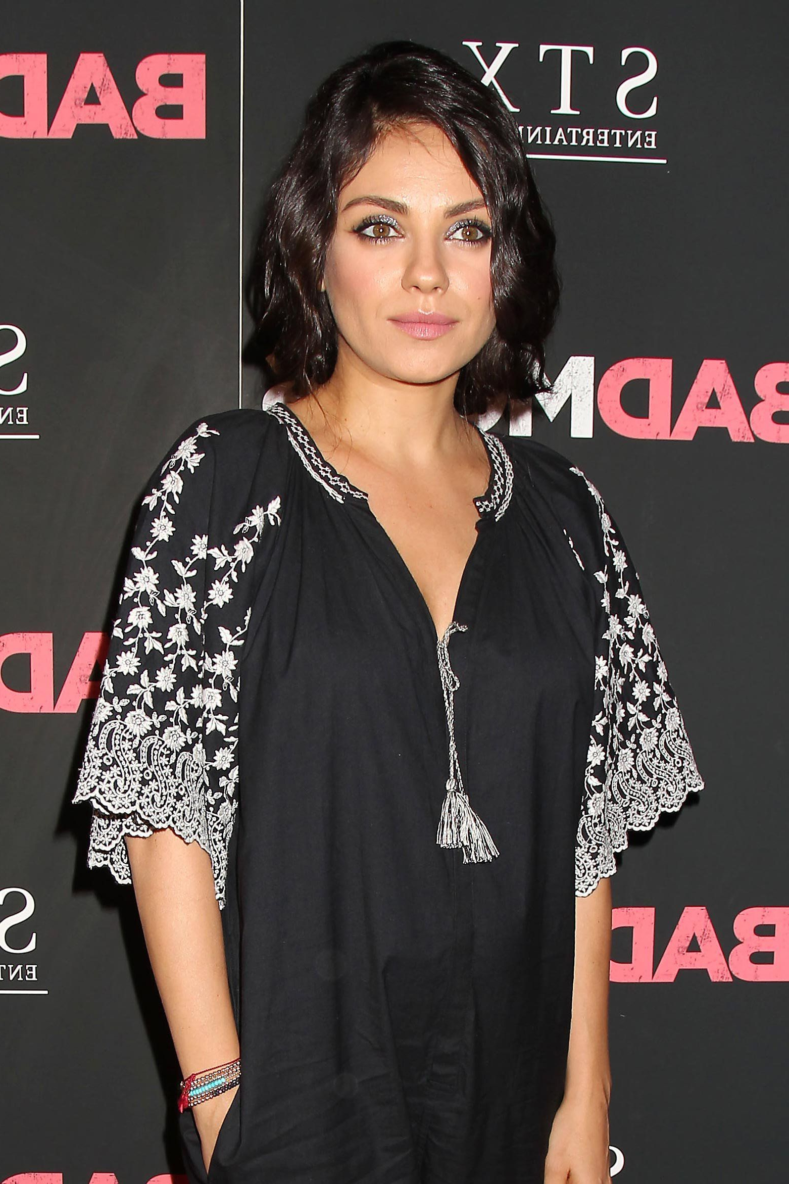So This Is What Mila Kunis Looks Like With Short Hair In 2018 Pertaining To Mila Kunis Short Hairstyles (View 3 of 25)
