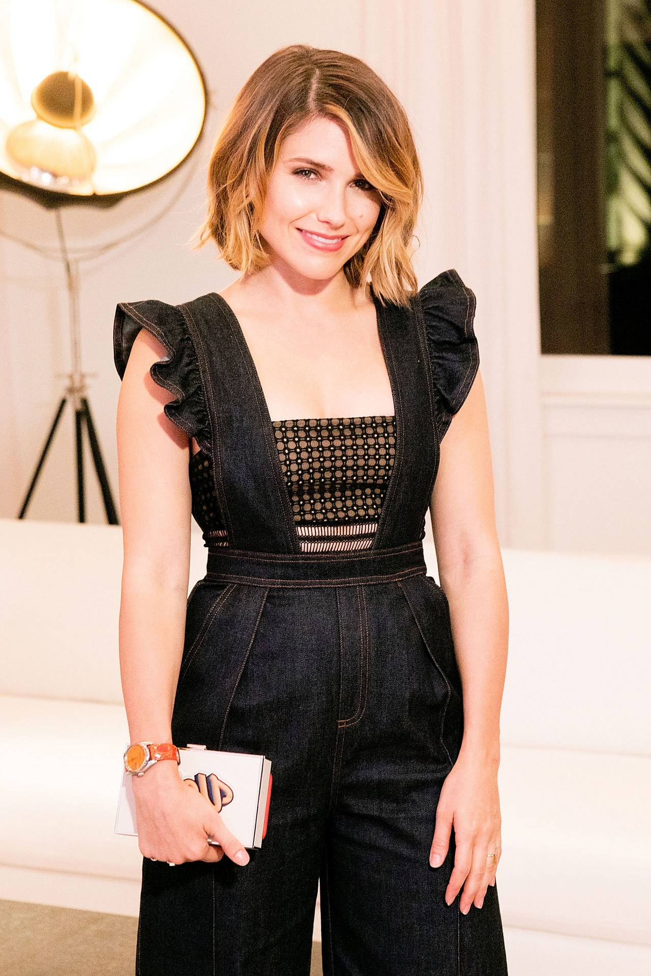 Sophia Bush Just Cut Her Hair Even Shorter?come See! | Glamour With Regard To Sophia Bush Short Hairstyles (View 17 of 25)