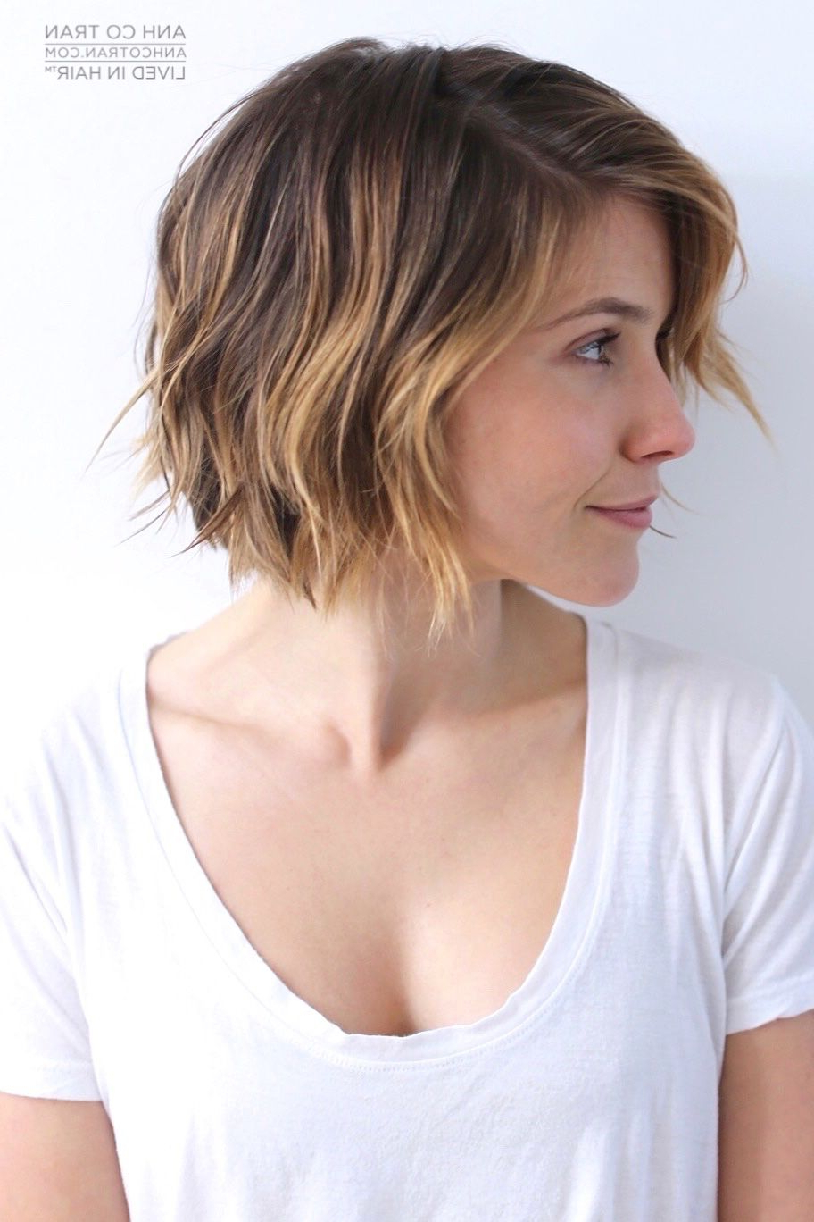 Sophia Bush // Lived In Hair Cut/styleanh Co Tran • Ig: @anh Co For Sophia Bush Short Hairstyles (View 5 of 25)
