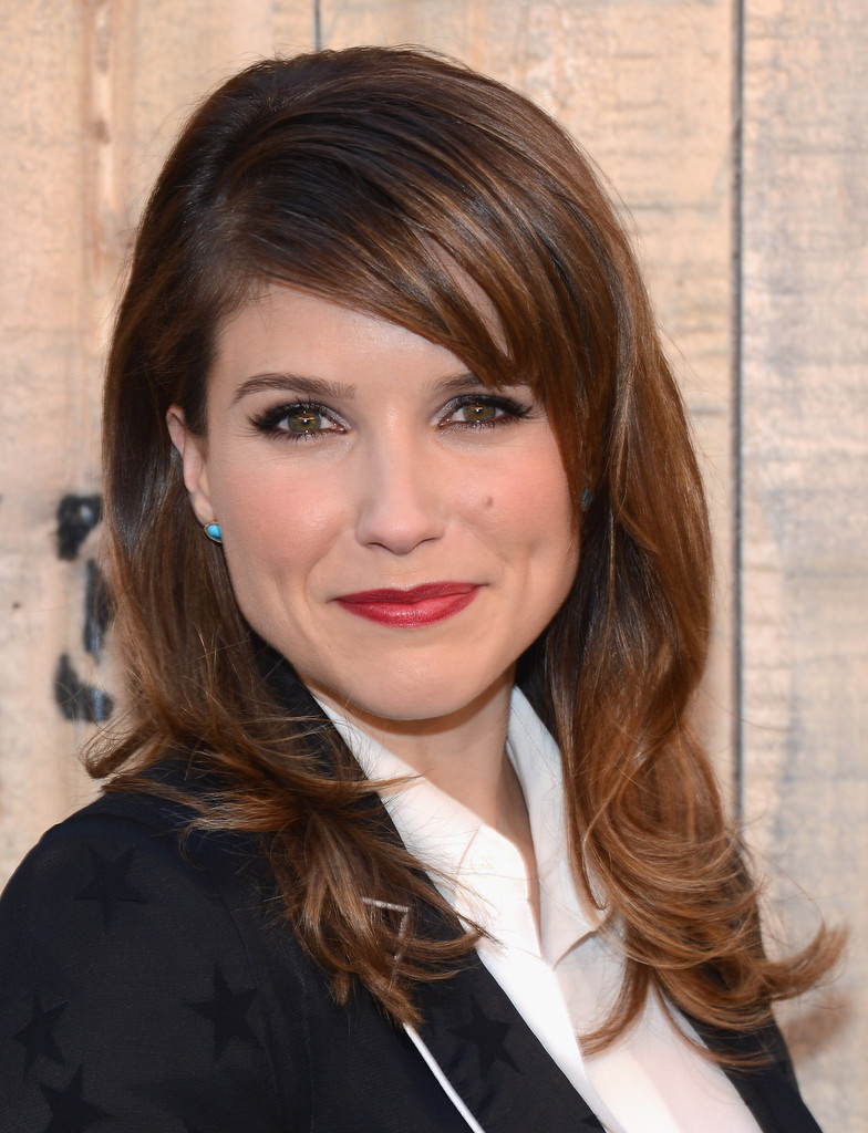 Sophia Bush Long Wavy Cut With Bangs – Long Hairstyles Lookbook With Sophia Bush Short Hairstyles (View 18 of 25)