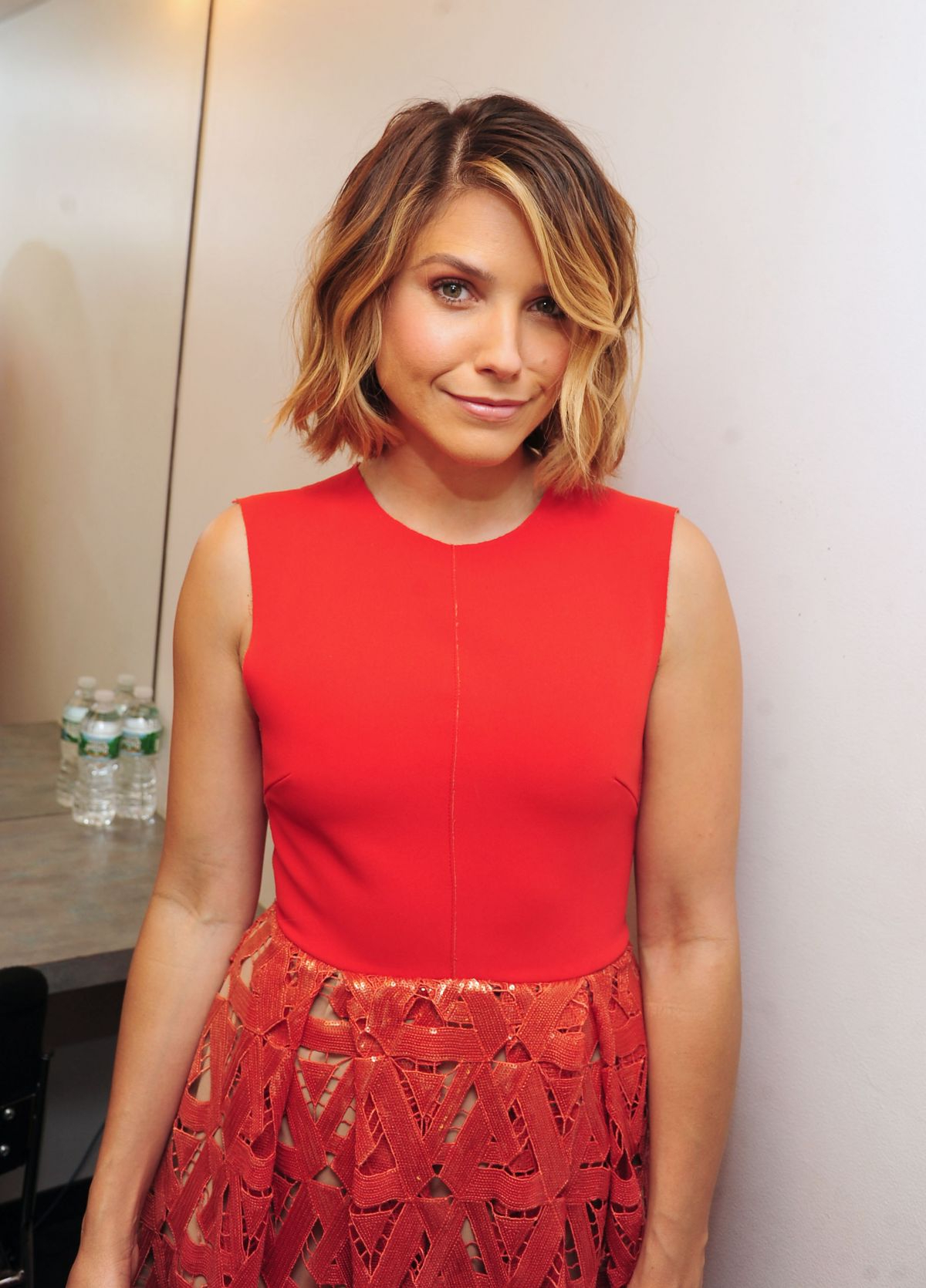 Sophia Bush On The Today Show – Celebzz Within Sophia Bush Short Hairstyles (View 19 of 25)