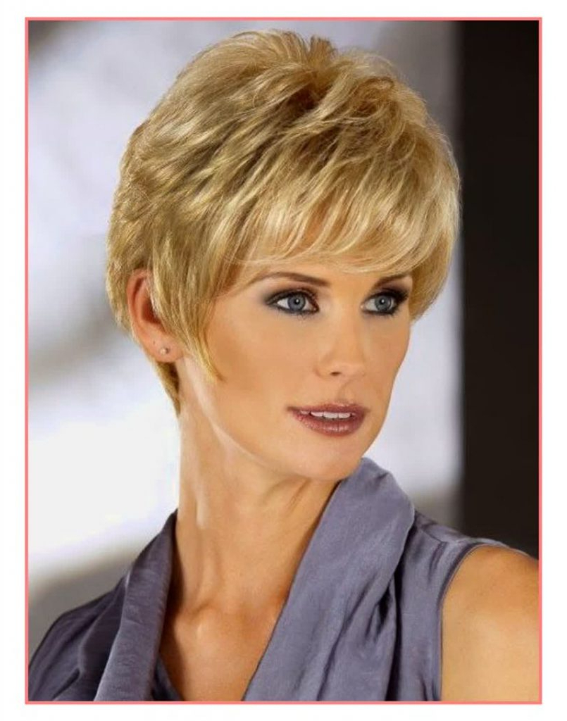 Spectacular Ladies Short Hairstyles For Thick Hair – Women Hairstyles Pertaining To Ladies Short Hairstyles For Thick Hair (View 15 of 25)