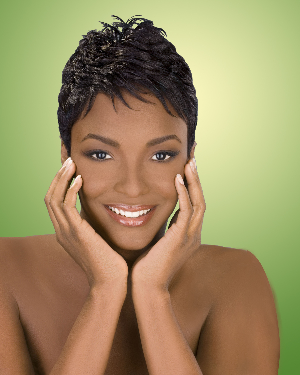 Splendid Short Curly Colored Hairstyle Black Women Short Hairstyles Inside Short Haircuts For Ethnic Hair (View 12 of 25)