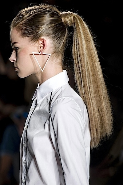 Spring/summer 2013 Best Hairstyles Trends: How To Get The Sexy Look For Intricate And Messy Ponytail Hairstyles (View 16 of 25)