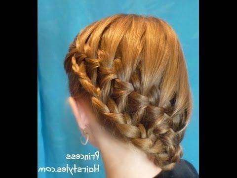 Stacked Waterfall Braid Side Ponytail Hairstyle For School – Youtube With Cascading Braided Ponytails (View 22 of 25)