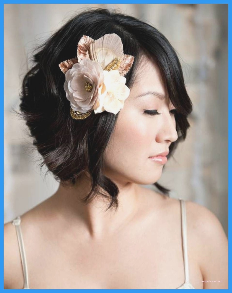 Styling Short Hair For Wedding Bridesmaid New Appealing Bridal For Throughout Short Hairstyles For Weddings For Bridesmaids (View 18 of 25)