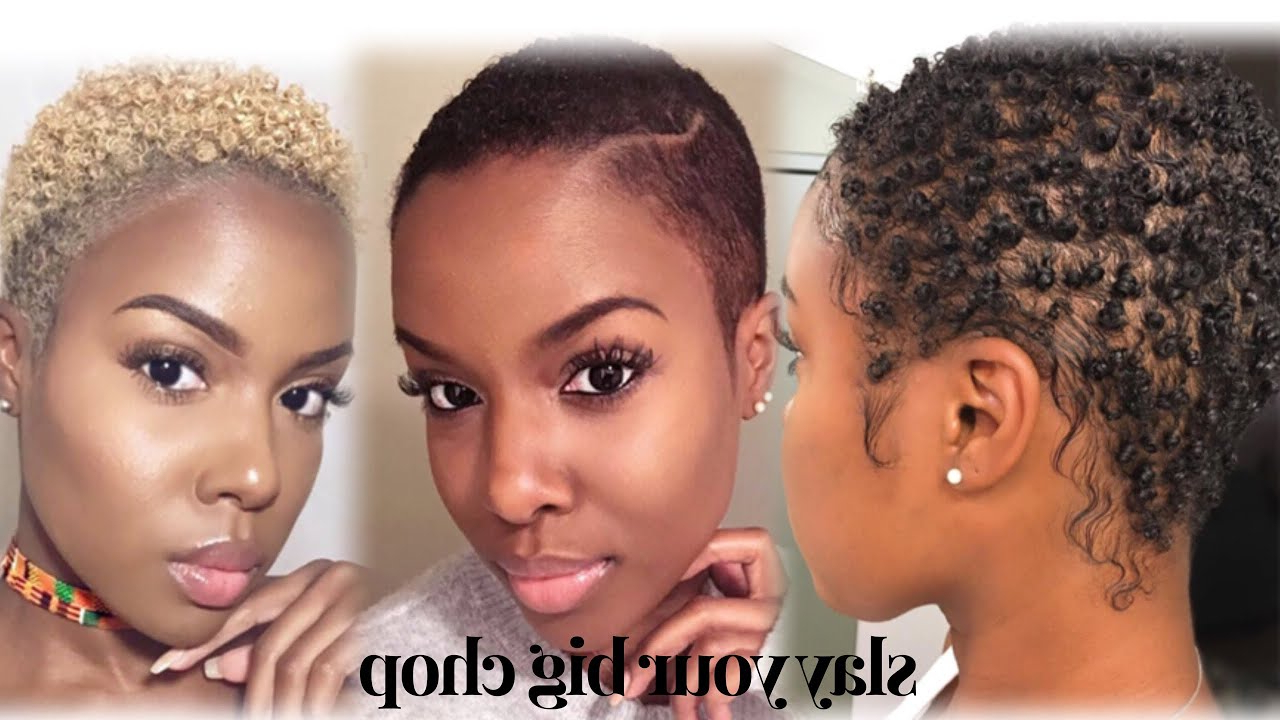 Styling Short Natural Hair 11 Ways! | Hairstyles For Big Chop + Twa For Short Hairstyles For Women With Big Foreheads (View 21 of 25)