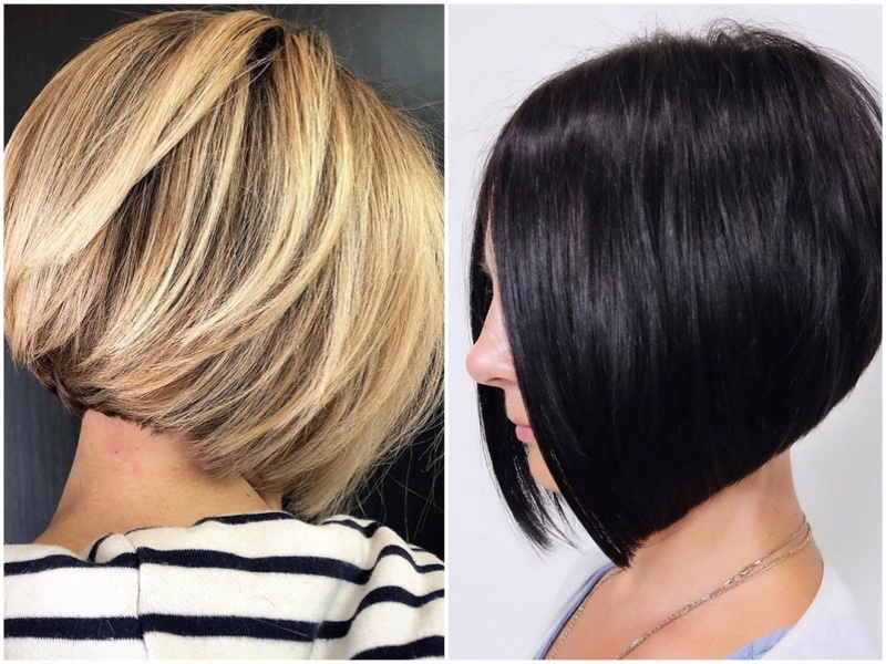 Stylish And Sexy Inverted Bob | The Fashionisto Inside Sleek Rounded Inverted Bob Hairstyles (View 24 of 25)
