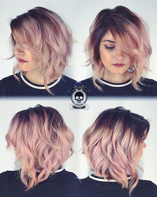 Stylish Asymmetrical Haircuts! In 2018 | Hair Ideas | Pinterest For Asymmetrical Haircuts For Thick Hair (View 2 of 25)