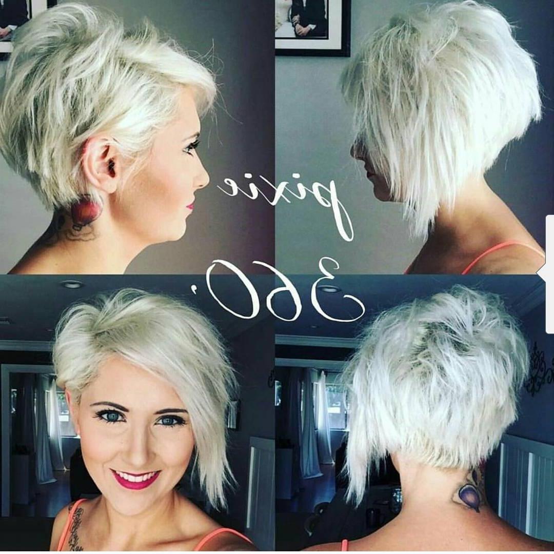 Stylish Choppy Haircuts For Short Hair – Women Short Hairstyle Ideas For Choppy Short Hairstyles (View 22 of 25)