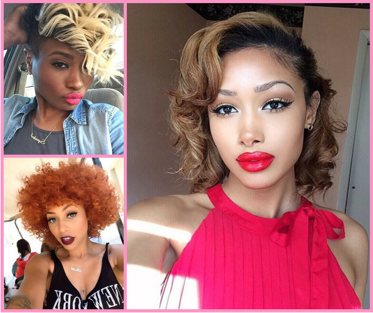 Stylish Short Haircuts For Black Women | Hairstyles 2017, Hair Intended For Short Haircuts For Black Hair (View 23 of 25)