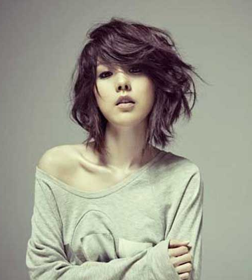 Stylish Short Haircuts For Thick And Wavy Hair – Love This Hair Within Short Wavy Haircuts With Messy Layers (View 25 of 25)