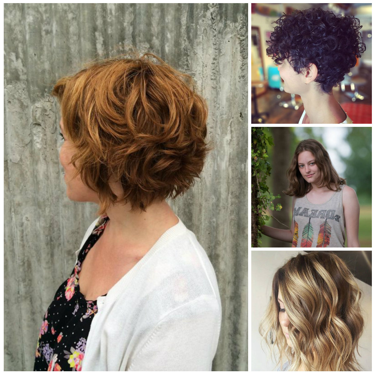 Stylish Short Wavy Hairstyle For 2017 | 2019 Haircuts, Hairstyles With Regard To Trendy Short Curly Hairstyles (View 23 of 25)