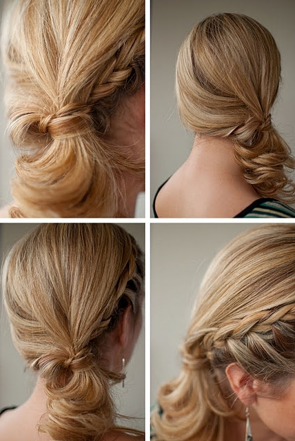 Summer Hair Ideas: Stylish Side Ponytail Hairstyles With Braid Pertaining To Reverse Braid And Side Ponytail Hairstyles (View 8 of 25)